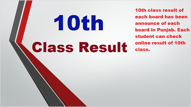 Check online 10th Class Result 2020 bise all board in Pakistan.