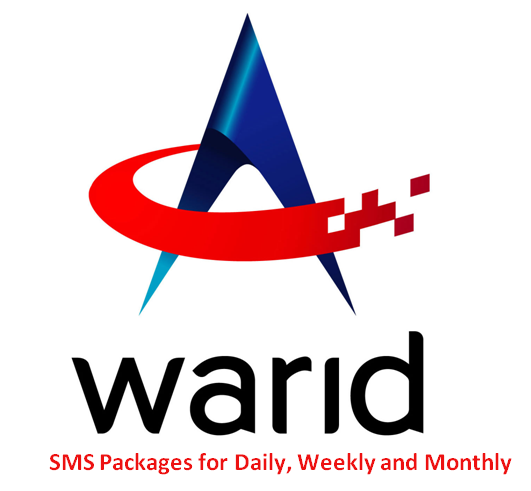 Warid SMS Packages 2020 for Monthly, Weekly, Daily (Prepaid & Postpaid)
