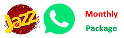Jazz Monthly Whatsapp Package Code