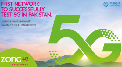 zong 5g packages